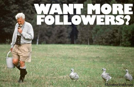 Want more followers 520x339 How to Make People Follow you in Twitter