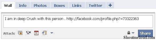 Facebook Status Prank