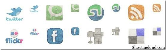 iconset11 thumb Popular Free Social Media icons Set to Spice Your Design
