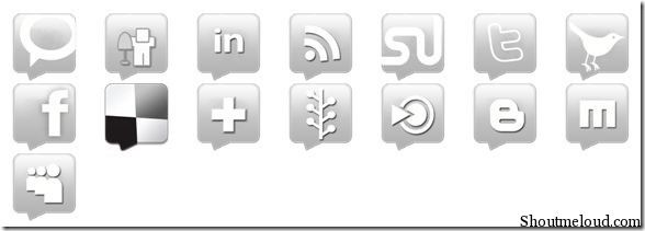 iconset6 thumb Popular Free Social Media icons Set to Spice Your Design