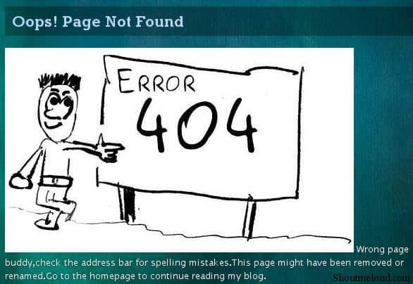 pg not found 5 Must Thing for Every Wordpress Blog
