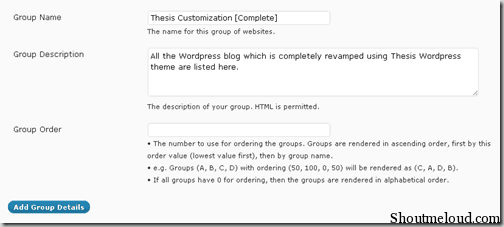 portfoliogroup thumb How to Configure Wordpress Portfolio Plugin: Wp Portfolio