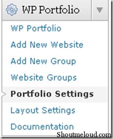 portfolio-settings