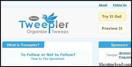twepler 5 Free Twitter Auto Follow Tools for auto Following Followers