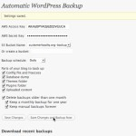 Automatic Wordpress Backup 150x150