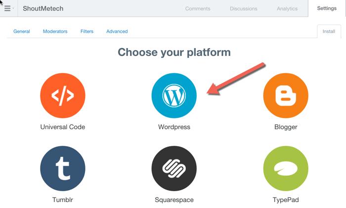 DISQUS Platform integration