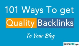 101 Ways to Get Quality Backlinks To Your Blog in 2015