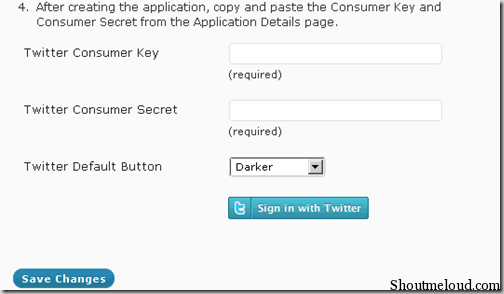 Twitterkey thumb Simple Twitter Connect WordPress plugin: Twitterize your Site