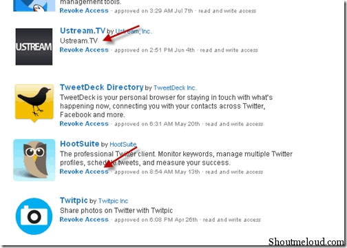 Twitterrevokeaccess thumb How to Remove Third Party Access to Twitter Account: Security Tip