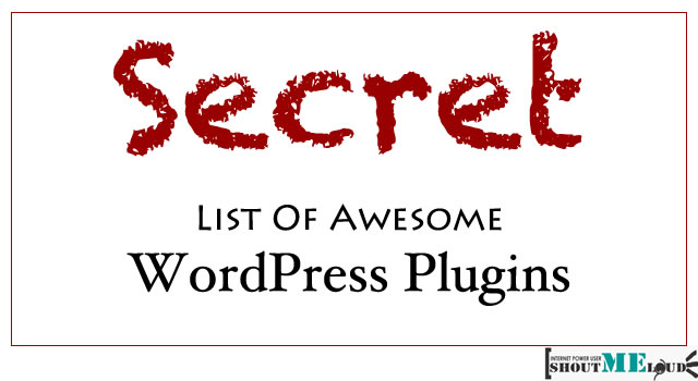 WordPress Plugins To use1