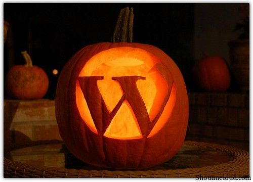 haloween wordpress