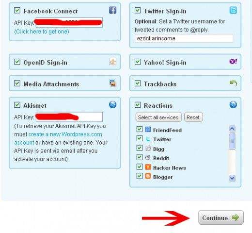 step04 520x480 How to Integrate DISQUS Commenting System on Your Website