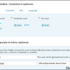 How to Add Twitter Official Share Count Button Into Thesis WordPress Theme