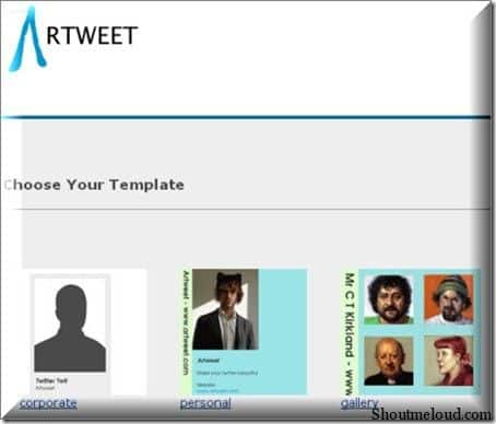 Artweet 10 Websites to Create Free Custom Twitter Background