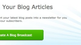 How To Send Automatic Newsletter on Aweber using RSS Feed