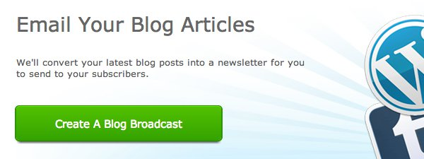 Aweber blog broadcast