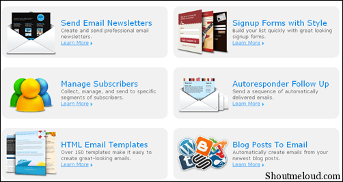 Aweberfeatures thumb Start Aweber Email Marketing with 1$