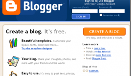 How To Create A Free Blog On the BlogSpot Blogging Platform