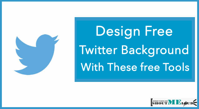 Design Free Twitter Background