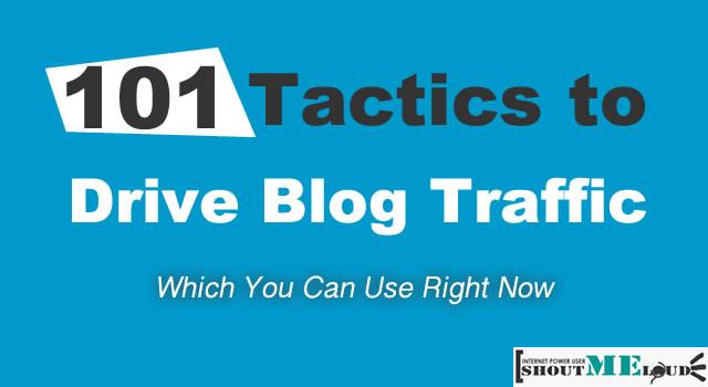 Drive Blog Traffic