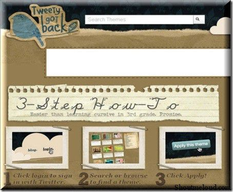 TweetyGotBack 10 Websites to Create Free Custom Twitter Background