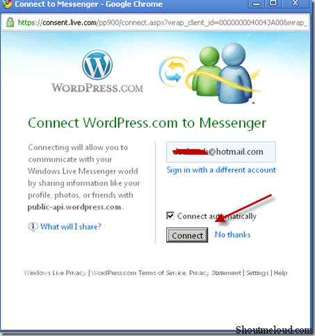 allowconnect thumb How to Migrate from Windows Live Space to WordPress.com
