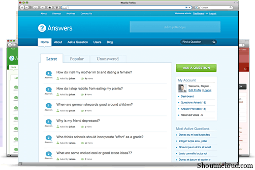 answers wordPress Theme Answers WordPress Theme: Make Money on Auto Pilot Mode