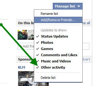 delete Facebook List How to Use Facebook List Feature