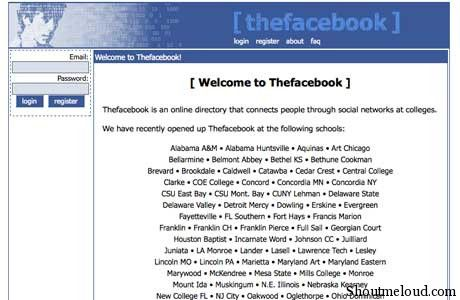 facebook old Facebook Or Orkut? Vote Your Favorite Social Networking Site