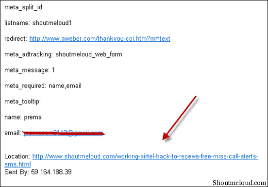 locationEmail thumb How to Unsubscribe Any Email address from Aweber Mailing List