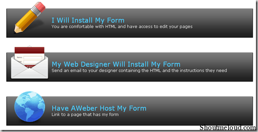 publishform thumb How to Create Mailing List Using Aweber [Tutorial]