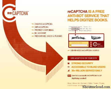 Recaptcha Plugin- Fighting Spam comments & Spam Bot Registration