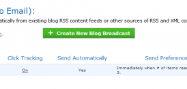 How to Show Complete Blog Post in Aweber Blog Broadcast Feature