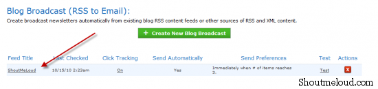 feed totle 550x130 How to Show Complete Blog Post in Aweber Blog Broadcast Feature