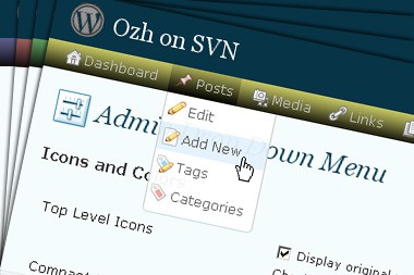 ozh 5 WordPress Dashboard Plugins to Enhance Admin Area
