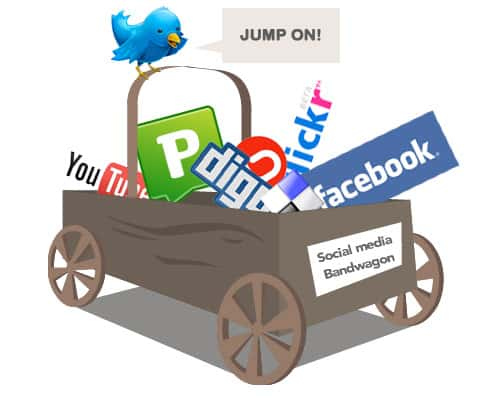 social media bandwagon Seven Types of Content People LOVE on Social Media
