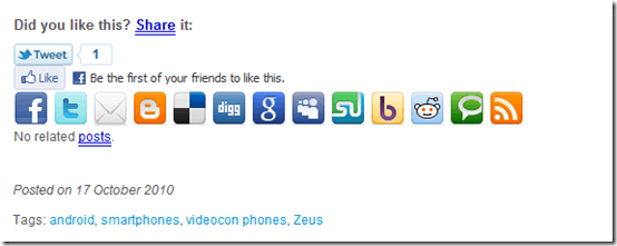 socialbookmarkingicons thumb Social Bookmarking & Sharing Icons: How Much Is enough?