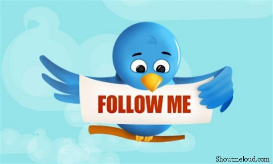 twitterFollow 550x330 9 Practical ways To Increase Twitter followers
