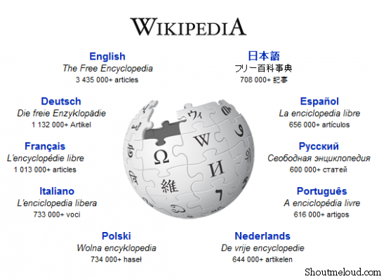 wikipedia 550x398 Wikipedia SEO Strategies  : Why WikiPedia Rank Higher in Google