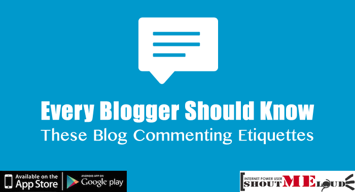 Blogger Should Know