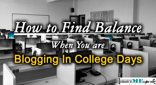 Blogging in College