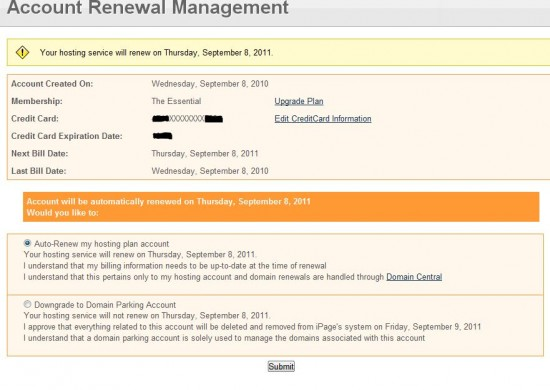 Ipage renewal page screenshot1 550x390