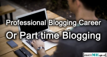 Professional Blogging or Part time Blogging : How To Choose?