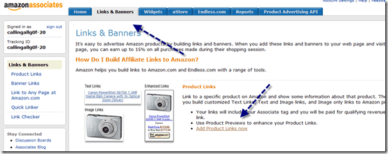 amazonlinksbanners thumb How to Create Amazon Affiliate Link [Tutorial]