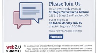 Facebook Launching Email service? @fb.com