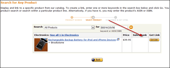 getlink thumb How to Create Amazon Affiliate Link [Tutorial]