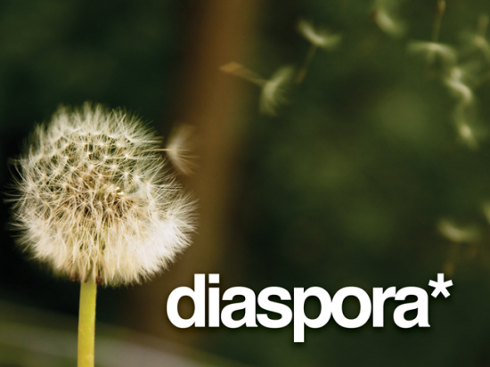 Diaspora Logo1 550x412 Diaspora   The open source, Privacy aware Social Network.