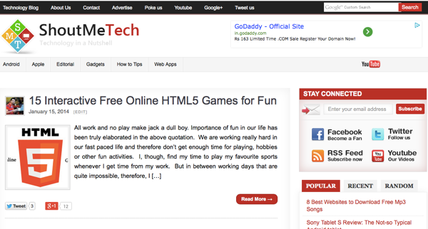 Tech Blog Is Technology Niche No Longer a Good Niche?