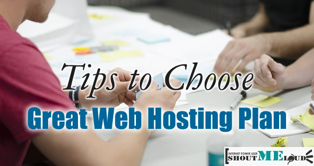 Tips To Choose Web Hosting Plan