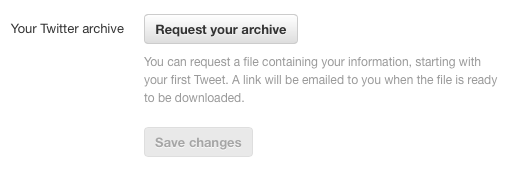 Twitter Archive How To Take Complete Backup Of Your Twitter Account